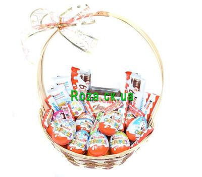 """""""Корзина сладостей в подарок"""" в интернет-магазине цветов roza.ck.ua"""