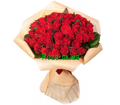 """101 red rose"" in the online flower shop roza.ck.ua"