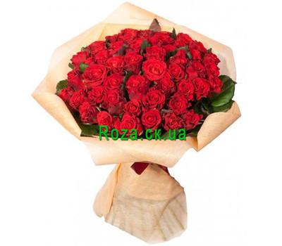 """101 красная роза"" в интернет-магазине цветов roza.ck.ua"