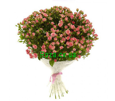 """Bouquet of bush roses"" in the online flower shop roza.ck.ua"