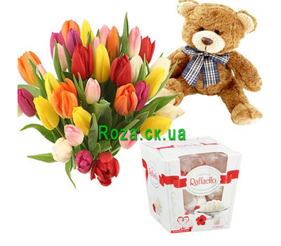 """""""Promotion №3"""" in the online flower shop roza.ck.ua"""
