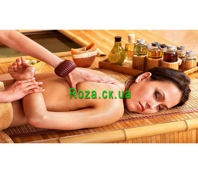 """Aromatic massage with essential oils"" in the online flower shop roza.ck.ua"