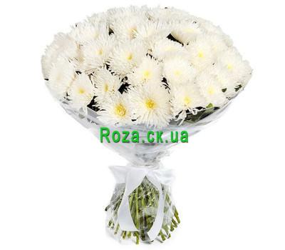 """""""Букет больших хризантем"""" в интернет-магазине цветов roza.ck.ua"""