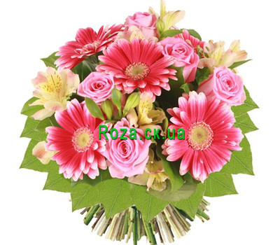 """Bouquet for mother"" in the online flower shop roza.ck.ua"