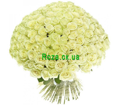 """Bouquet of 201 roses"" in the online flower shop roza.ck.ua"