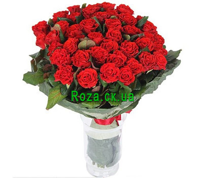 """Bouquet of 55 Roses El Toro"" in the online flower shop roza.ck.ua"