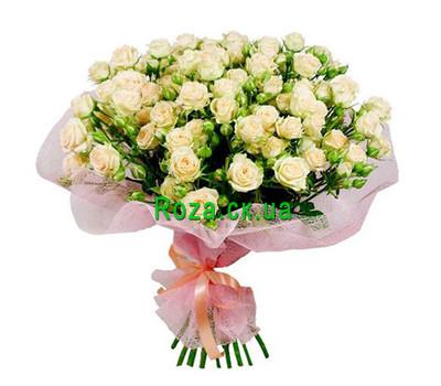 """""""Букет из кустовых роз"""" в интернет-магазине цветов roza.ck.ua"""