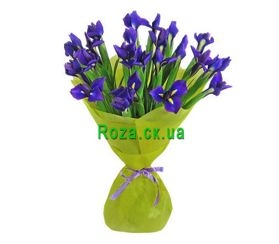 """Bouquet of irises"" in the online flower shop roza.ck.ua"