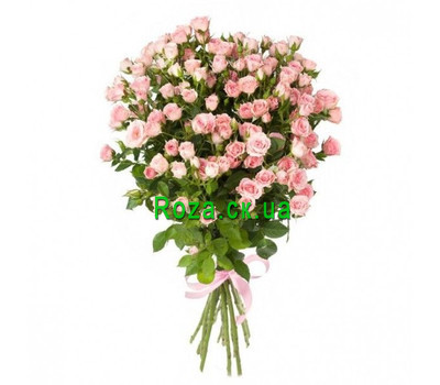 """Bouquet of rose bush roses"" in the online flower shop roza.ck.ua"