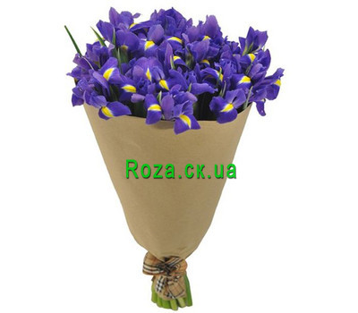 """""""Bouquet of irises"""" in the online flower shop roza.ck.ua"""