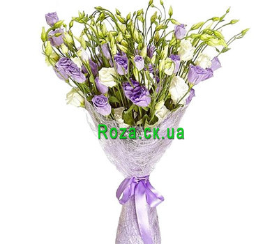 """""""Exotic bouquet of natural flowers"""" in the online flower shop roza.ck.ua"""