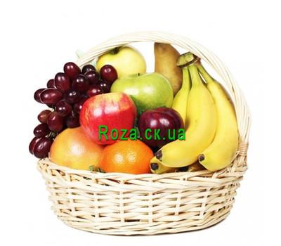 """Fruit basket for a gift"" in the online flower shop roza.ck.ua"