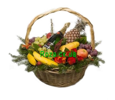 """Fruits for the New Year"" in the online flower shop roza.ck.ua"