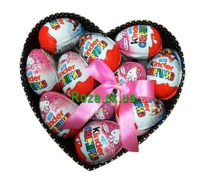 """Kinder box of surprises"" in the online flower shop roza.ck.ua"