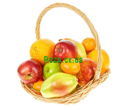 """Fruit Basket"" in the online flower shop roza.ck.ua"