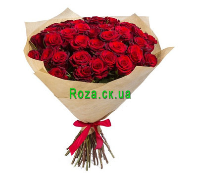 """Beautiful bouquet of roses"" in the online flower shop roza.ck.ua"