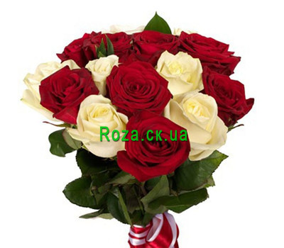 """Bouquet of roses"" in the online flower shop roza.ck.ua"