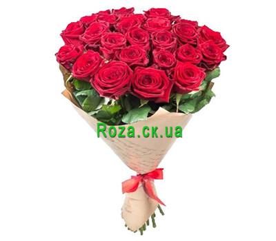 """""""Красивый букет в бумаге"""" в интернет-магазине цветов roza.ck.ua"""