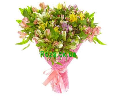 """Buy Alstroemerias"" in the online flower shop roza.ck.ua"