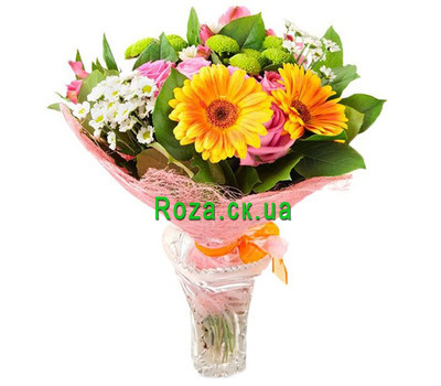 """Lovely bouquet of flowers"" in the online flower shop roza.ck.ua"