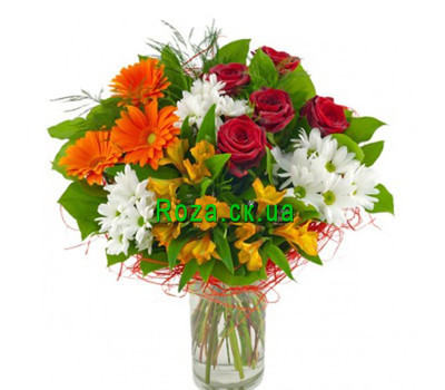 """An unusually beautiful bouquet"" in the online flower shop roza.ck.ua"