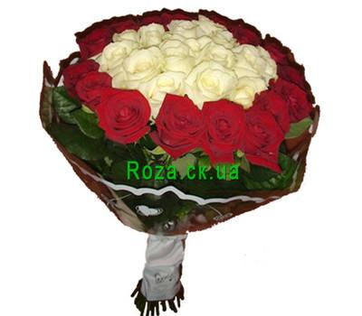 """""""Необычный букет роз"""" в интернет-магазине цветов roza.ck.ua"""