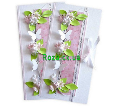 """Delicate birthday card"" in the online flower shop roza.ck.ua"