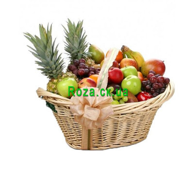 """Huge fruit basket"" in the online flower shop roza.ck.ua"