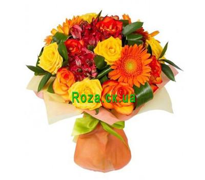 """Autumn Bouquet"" in the online flower shop roza.ck.ua"