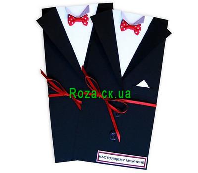 """""""Открытка настоящему мужчине"""" в интернет-магазине цветов roza.ck.ua"""