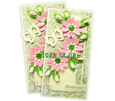 """Postcard Congratulations"" in the online flower shop roza.ck.ua"