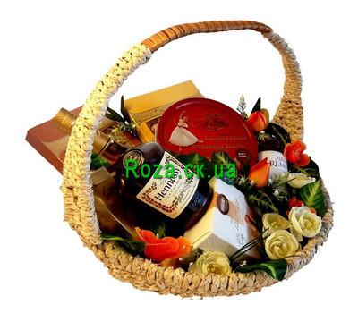 """""""Подарочная корзина - Для мужчин"""" в интернет-магазине цветов roza.ck.ua"""