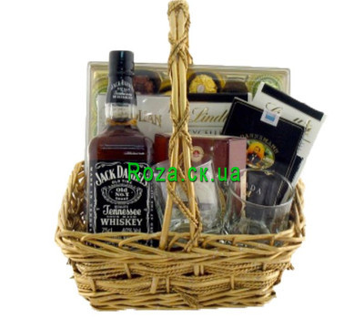 """Gift basket - Gentleman''s set'"" in the online flower shop roza.ck.ua"
