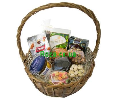 """Gift basket - For tea"" in the online flower shop roza.ck.ua"