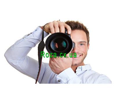 """""""Подарочный сертификат на фотосессию"""" в интернет-магазине цветов roza.ck.ua"""