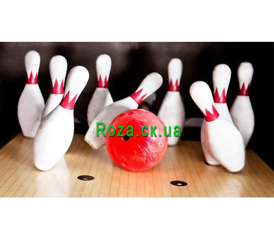 """Gift certificate for bowling"" in the online flower shop roza.ck.ua"