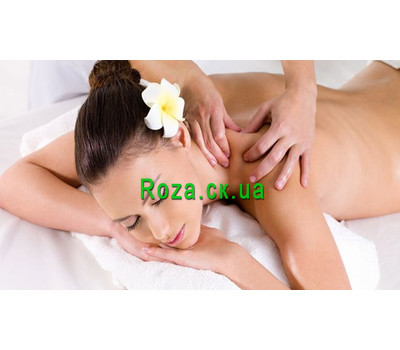 """Classic massage gift certificate"" in the online flower shop roza.ck.ua"
