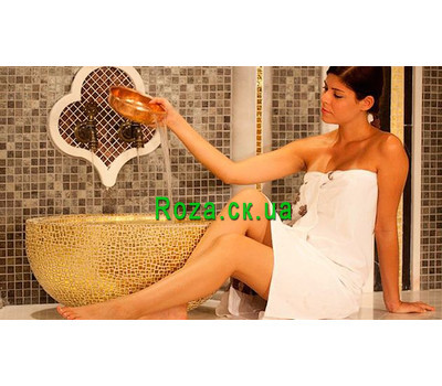 """""""Gift certificate for Turkish hamam"""" in the online flower shop roza.ck.ua"""