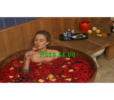"""""""Gift certificate for the Japanese bath Ophuro"""" in the online flower shop roza.ck.ua"""