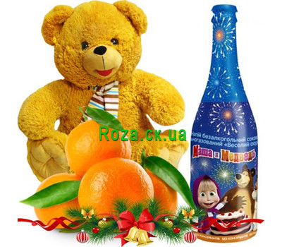 """Gift for the child for the New Year"" in the online flower shop roza.ck.ua"