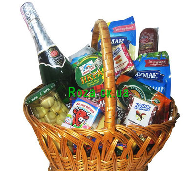 """Grocery basket - Wealth of nature"" in the online flower shop roza.ck.ua"