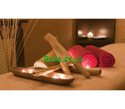 """Samurai massage with bamboo brooms"" in the online flower shop roza.ck.ua"