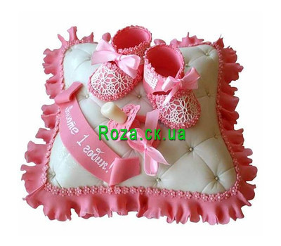 """Children's cake with mastic"" in the online flower shop roza.ck.ua"