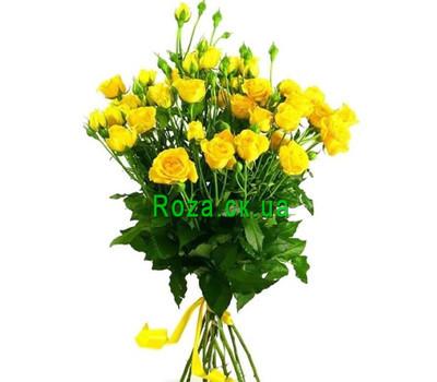 """Bouquet of bush roses"" in the online flower shop roza.ck.ua"