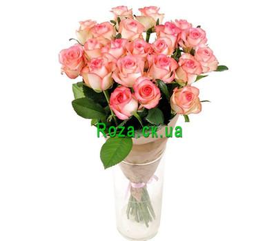 """21 роза Джамиля в букете"" в интернет-магазине цветов roza.ck.ua"