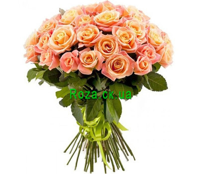 """51 roses Miss Piggy"" in the online flower shop roza.ck.ua"