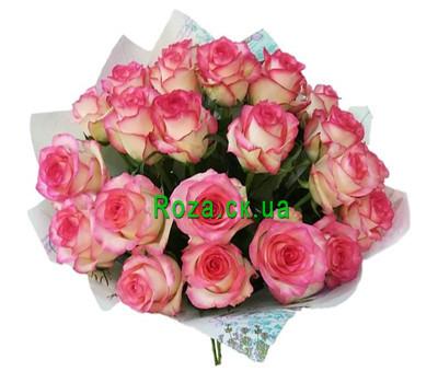 """""""Букет из 25 роз Джамилия"""" в интернет-магазине цветов roza.ck.ua"""