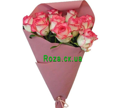 """11 roses Jumilia"" in the online flower shop roza.ck.ua"