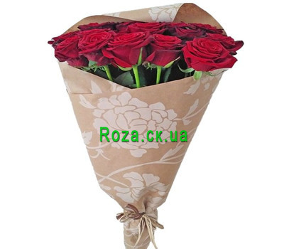 """21 red roses"" in the online flower shop roza.ck.ua"