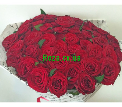 """""""Large bouquet of roses in Cherkassy 3"""" in the online flower shop roza.ck.ua"""